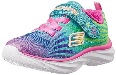sketchers toddler shoes. skechers kids pepsters colorbeam sneaker (little kid/big kid), multi, 1 sketchers toddler shoes r