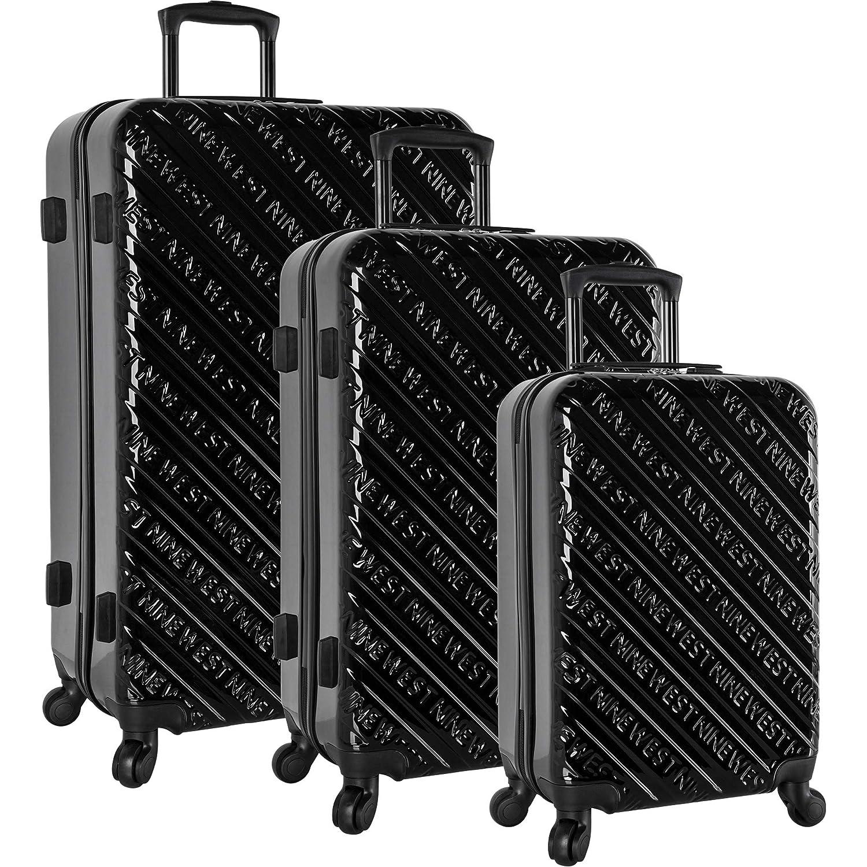 Image of Ninewest Luggage 3 Piece Hardside Spinner Luggage Set Luggage