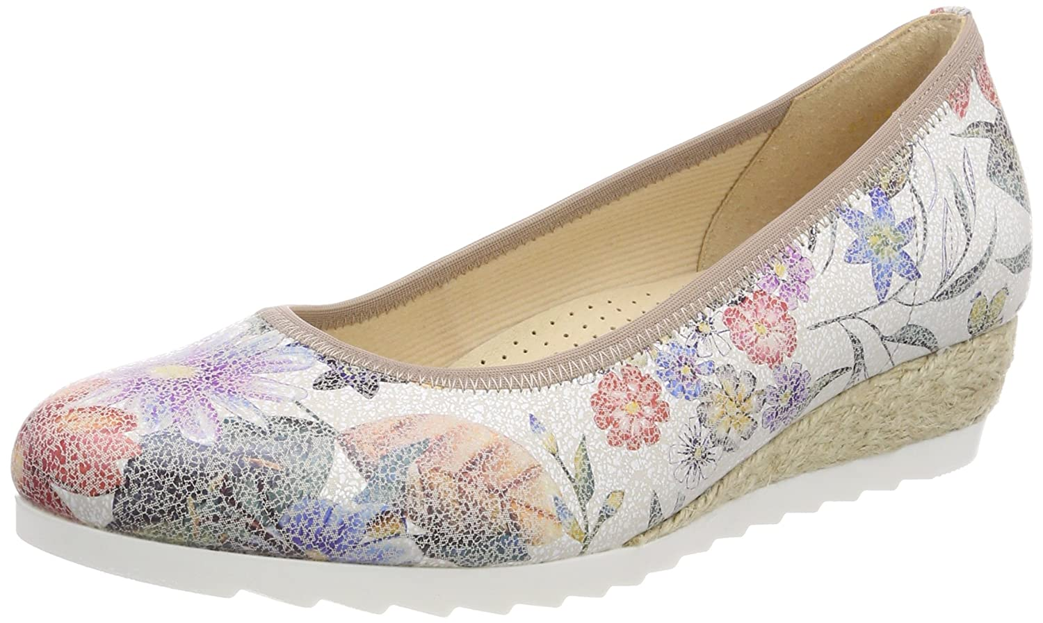 Gabor Shoes EU|Multicolore Comfort Sport, Ballerines Femme 38.5 EU|Multicolore Shoes (Multicolor Jute) 02e516