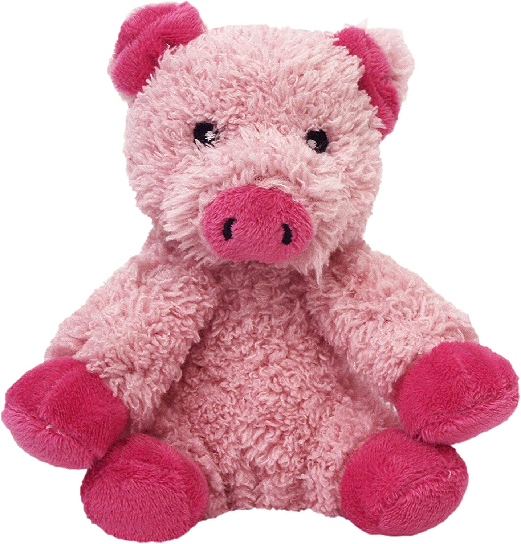 Multipet Look Who's Talking Pig Dog Toy : Plush Animal Toys : Pet Supplies