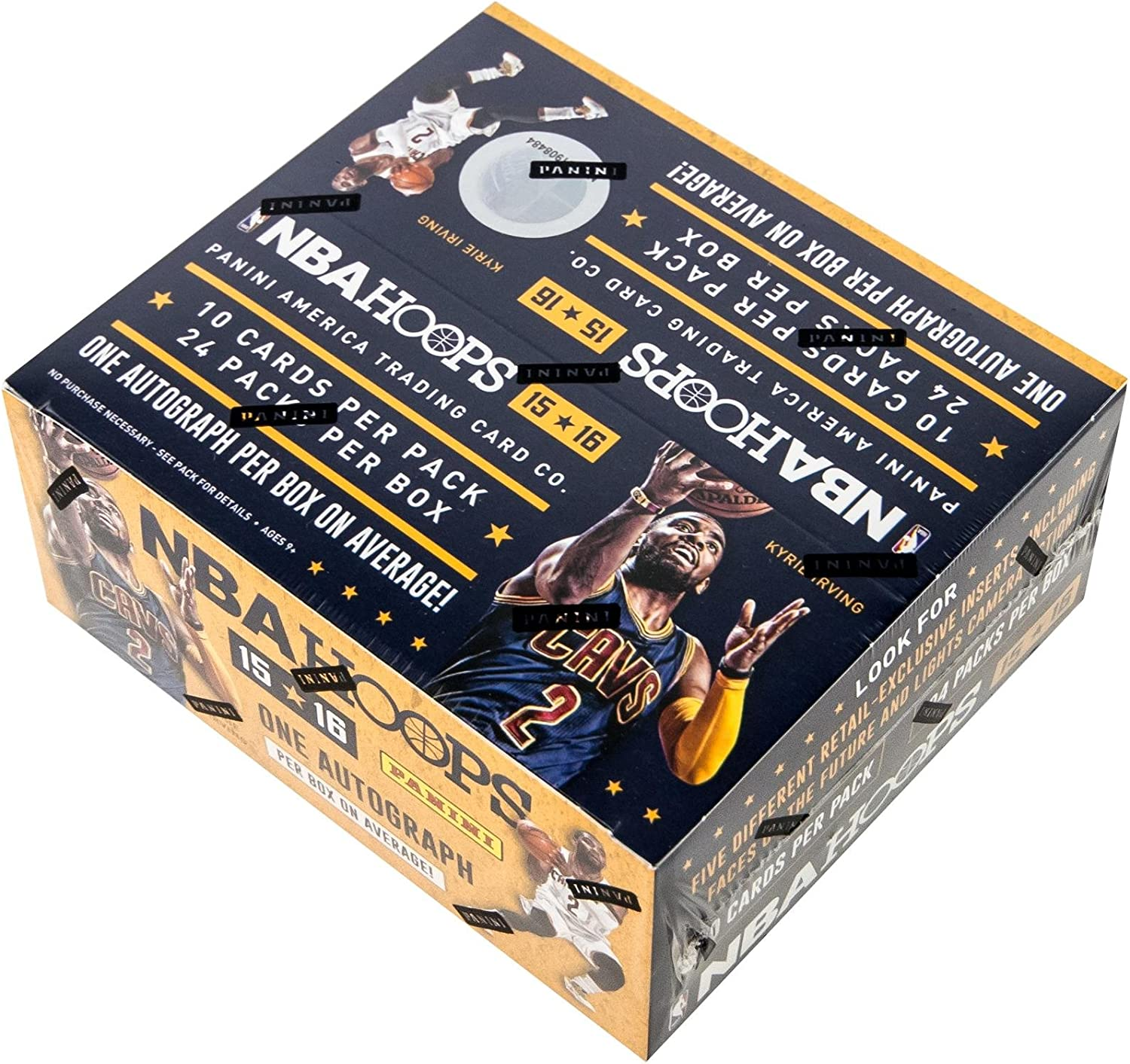 NBA Basketball 2015-16 NBA Hoops Trading Card Retail Box (Panini) 81bMIubnDnL