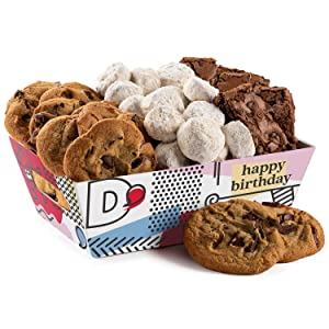 Davids Cookies Crates (Birthday Brownies & Cookies Crate)