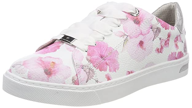 Be Natural 23640, Sneakers Basses Femme, Rose (Rose Flower), 42 EU