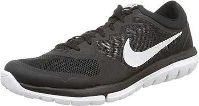 Nike Flex 2015 Rn - Zapatillas para hombre, Black/White, 40 1/2: Amazon.es: Zapatos y complementos