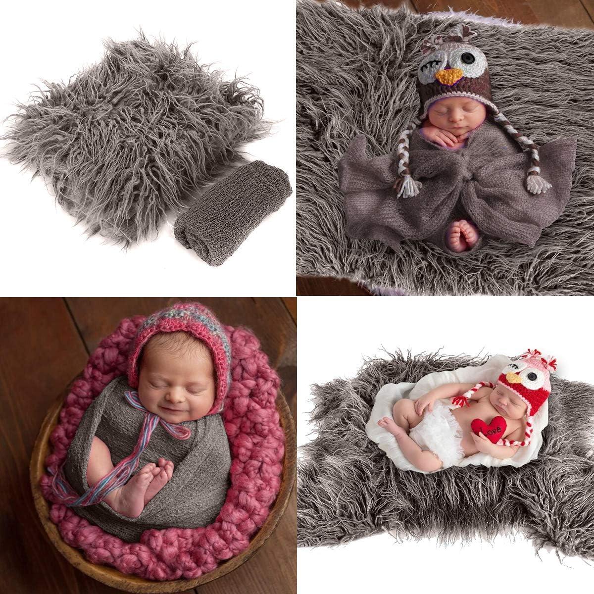 2 pezzi Leyeet Coperta per foto e neonati