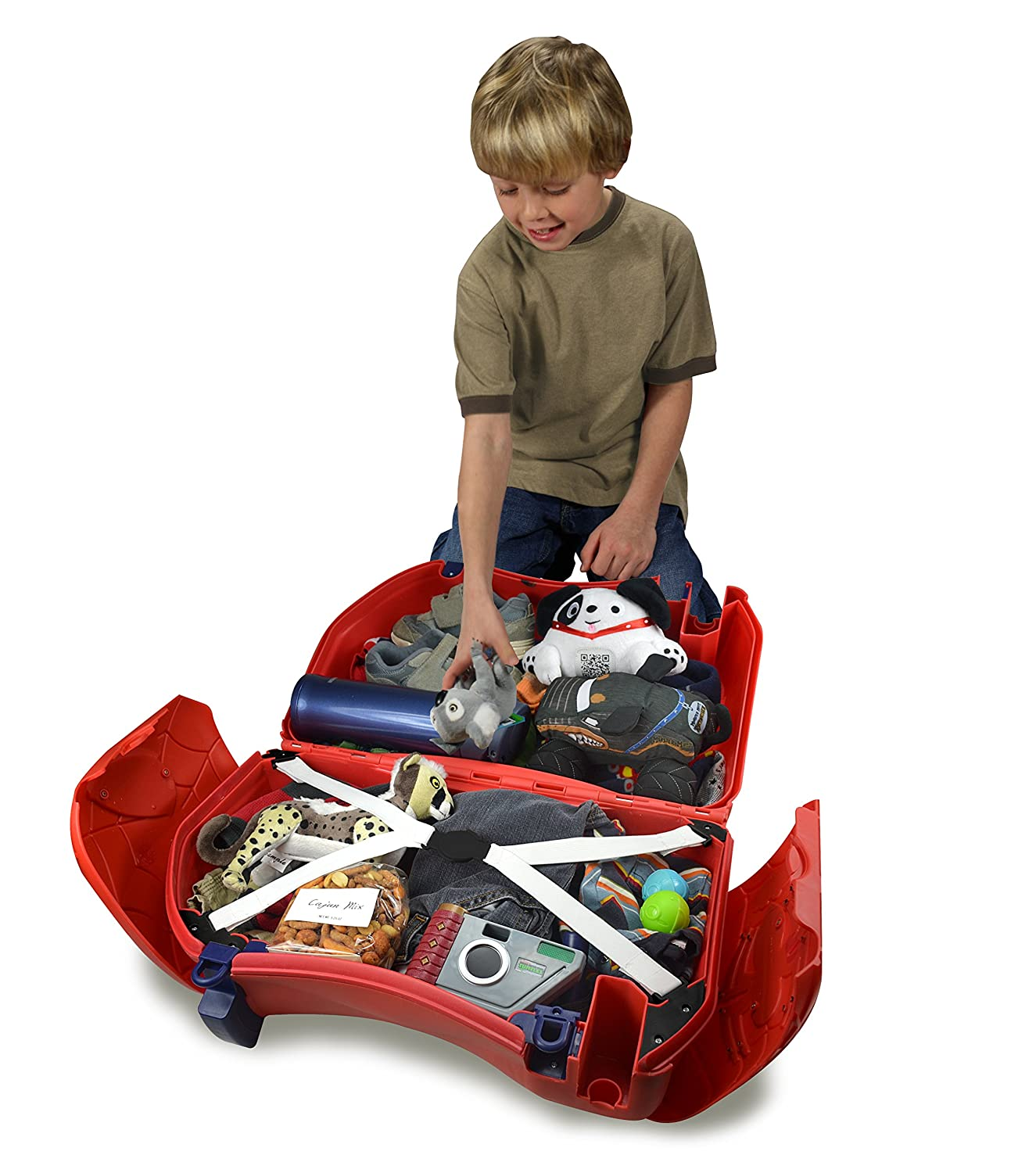 Buy Frog Ride On Storage Box   Spiderman, Red Online At Low Prices In India    Amazon.in