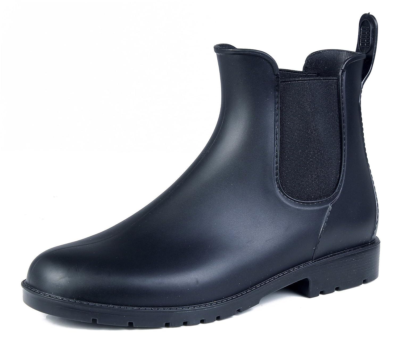 AgeeMi Shoes AgeeMi Femmes Bottines Noir de Pluie Pluie Chelsea Imperméables Unisexe Noir 2fbfe23 - latesttechnology.space