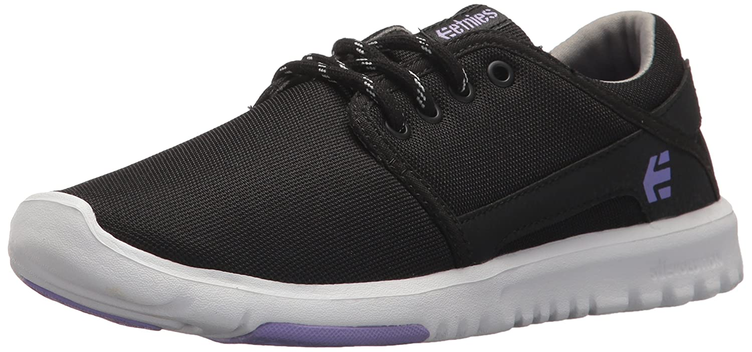 Etnies Womens Scout Sneaker B071NLBT9P 7.5 B(M) US|Black/Purple
