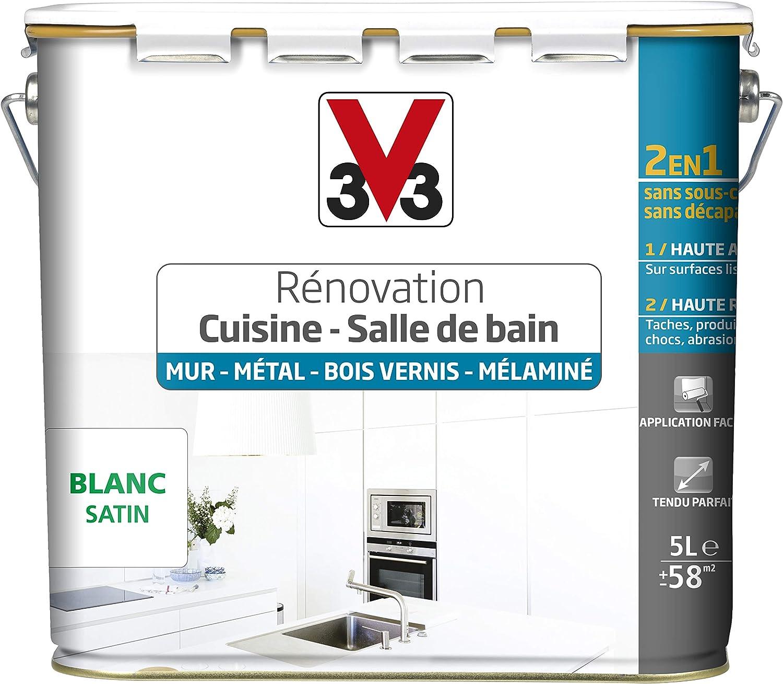 V33 Peinture Renovation Cuisine Salle De Bain Murs Metal