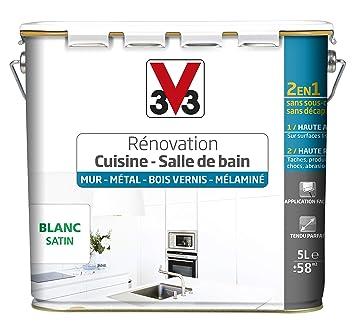 V33 Peinture Renovation Cuisine Salle De Bain Murs Metal Bois