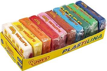 Jovi Pack de 10 plastilinas, colores, 500 Gramos (70/10S): Amazon.es: Juguetes y juegos