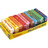 Jovi Plastilina Reusable and Non-Drying Modeling Clay; 1.75 Oz. Bars, Set of 10, 1 Each of 10 Colors, Perfect for Arts and Cr