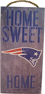 """Fan Creations 6""""x12"""" Home Sweet Home Wood Sign"""