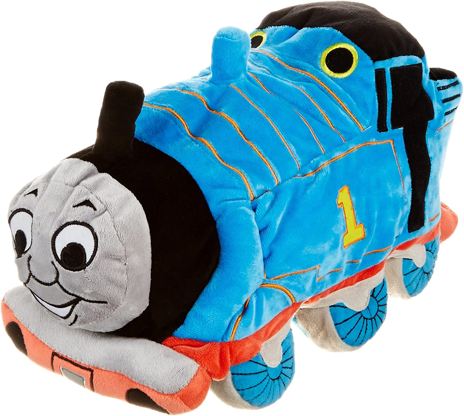 Jay Franco Thomas & Friends Plush Stuffed Toddler Pillow Buddy - Kids Super Soft Polyester Microfiber, 15 inch (Official Mattel Product), Thomas