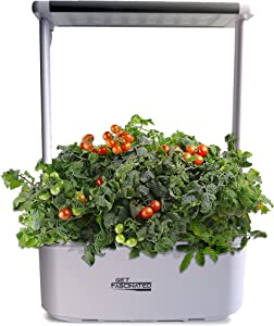 Get Fascinated Mini Smart Garden Hydroponics Indoor Growing System – Auto Watering Indoor Garden with Intelligent Lighting Source – LED Light Source for Enhanced Photosynthesis – Electronic Control