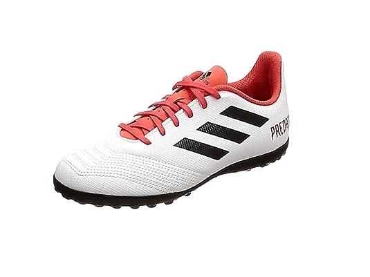 outlet store fee80 be50b Adidas Predator Tango 18.4 TF J, Botas de fútbol Unisex Adulto, Blanco  (Ftwbla