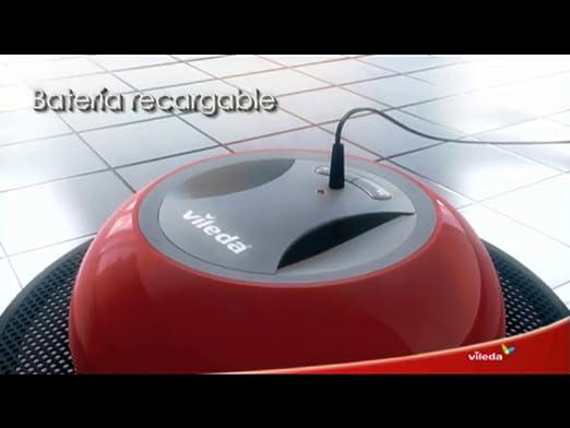 Vileda 949862 Robot mopa automático, 0 W, 0.25 litros, 65 Decibelios, Otro, Negro y rojo: Amazon.es: Belleza