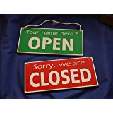 Personalised Open / Closed Hanging Sign