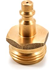 Camco 36143 RV Blow Out Plug with Brass Quick Connect