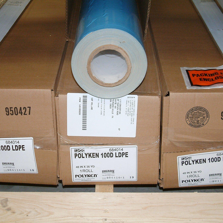 Polyken 100D/NAT236 100D Premium Double Coated Carpet Tape: 2'' x 36 yd, Natural
