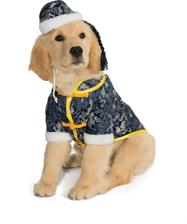 amazon com rubie s pet costume medium asian dog pet supplies