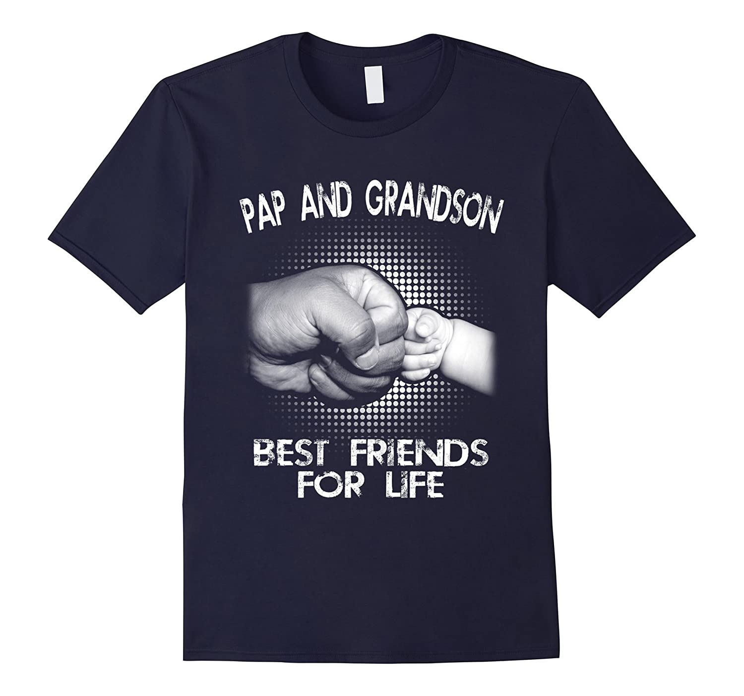 G- Pap And Grandson Best Friends For Life T-Shirt-Vaci
