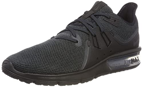 timeless design f4d86 8de10 Nike Air Max Sequent 3, Scarpe Running Uomo, Nero (BlackAnthracite 010