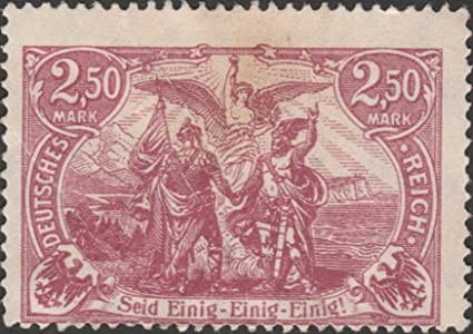 Einig-einig-einig Postage Stamp com 2 Amazon 1920 German Seid 50m