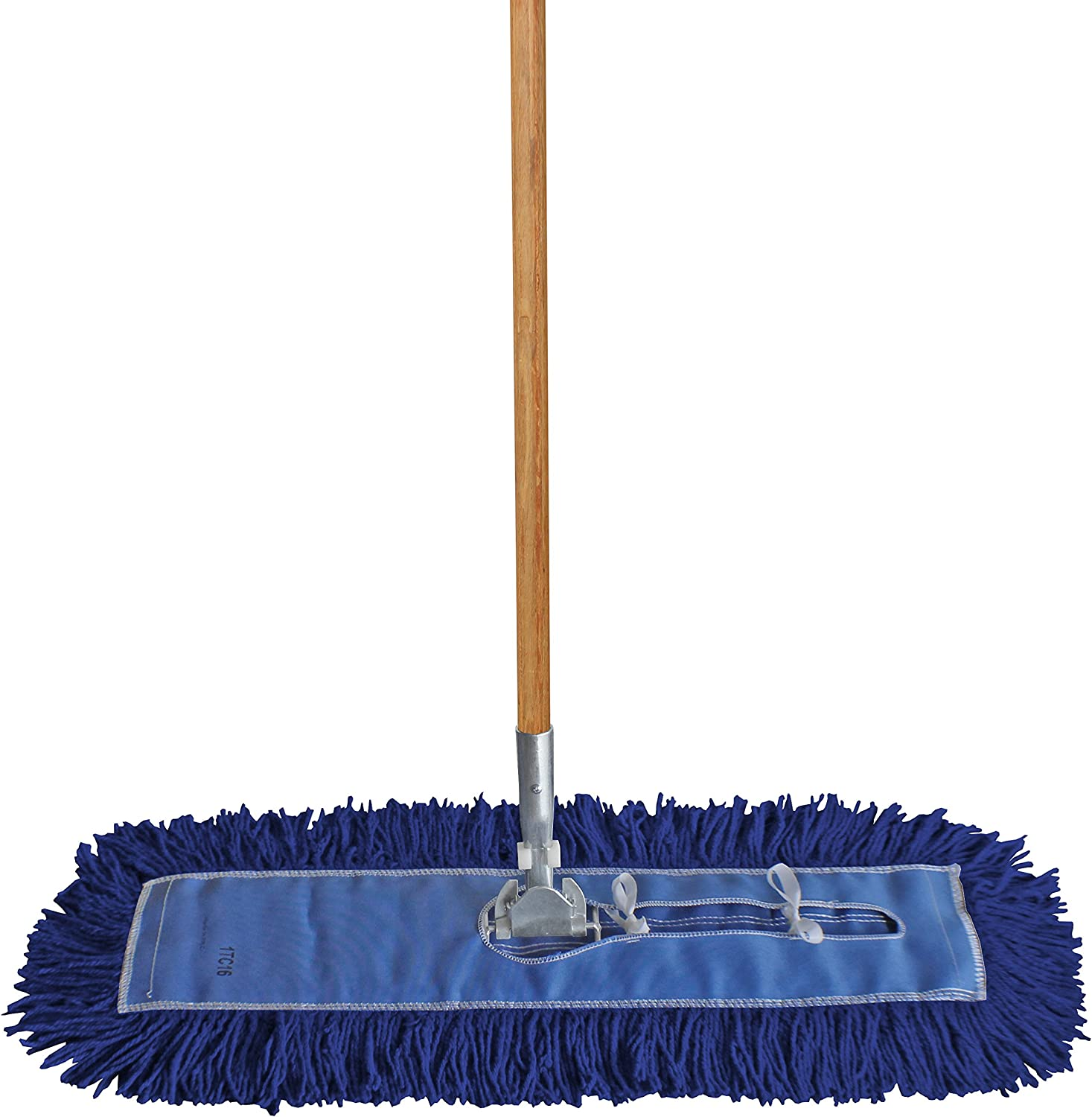 """48/"""" Commercial Industrial Microfiber Dust Mop Pad Refill for 48 Inch Mop Frames"""