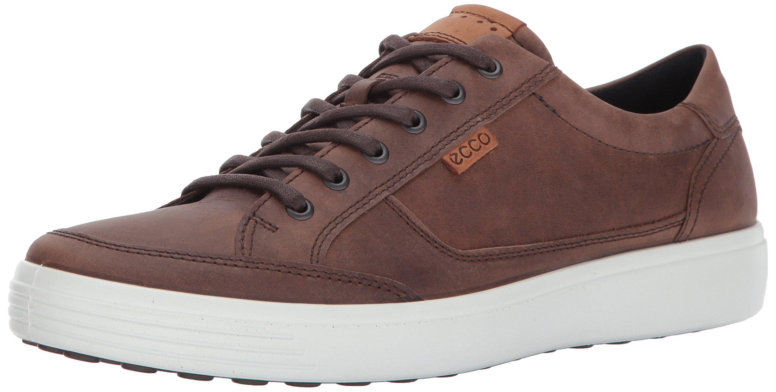 ECCO Men's Soft 7 Fashion Sneaker, Cocoa Brown,44 EU / 10-10.5 US