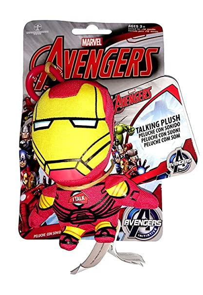 Marvel Famosa - Peluche/Llavero 11 cm con Sonidos Iron Man ...