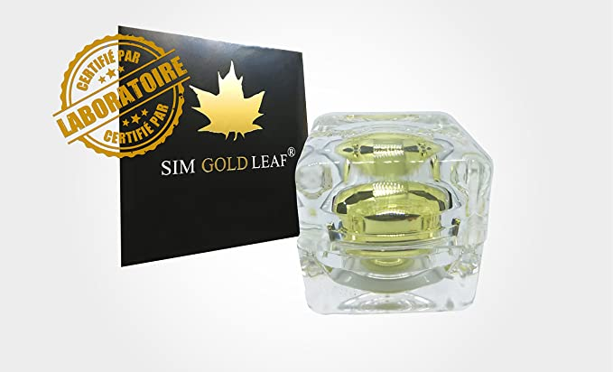 Sim Gold Leaf Polvo, Oro, 100mg: Amazon.es: Hogar