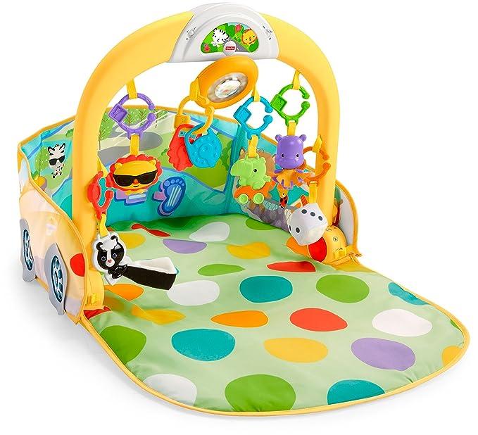 Infant Coche 3 en 1 para gimnasio Fisher-Price (Mattel DFP07): Amazon.es: Juguetes y juegos
