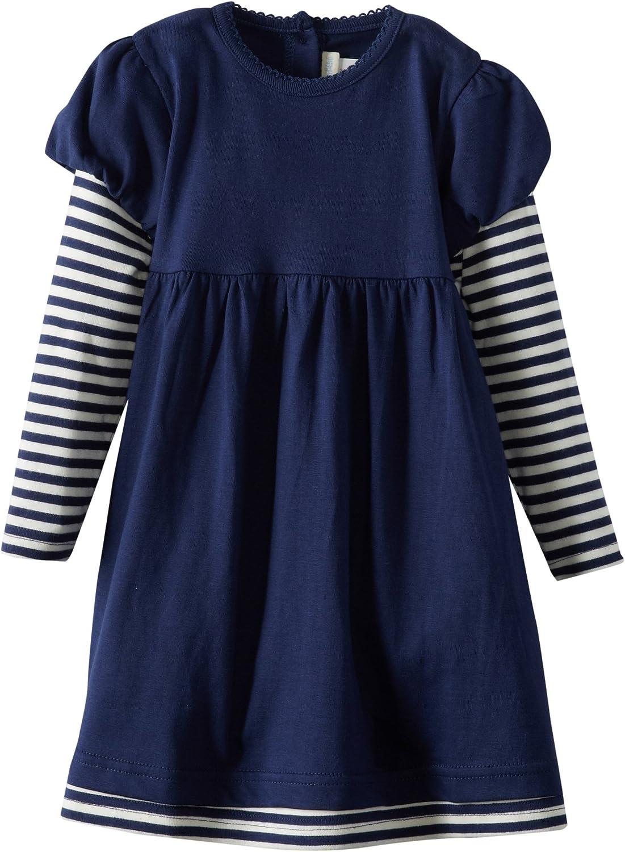 JoJo Maman Bebe Baby Girls Breton Dress