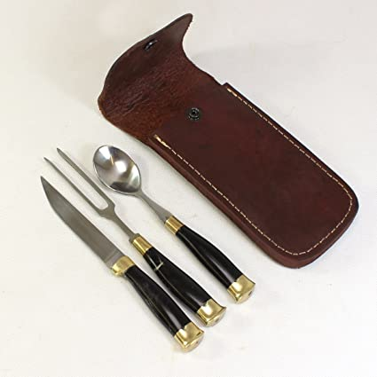La edad media cubertería Fuhrmann cuchillo, cuchara y ...