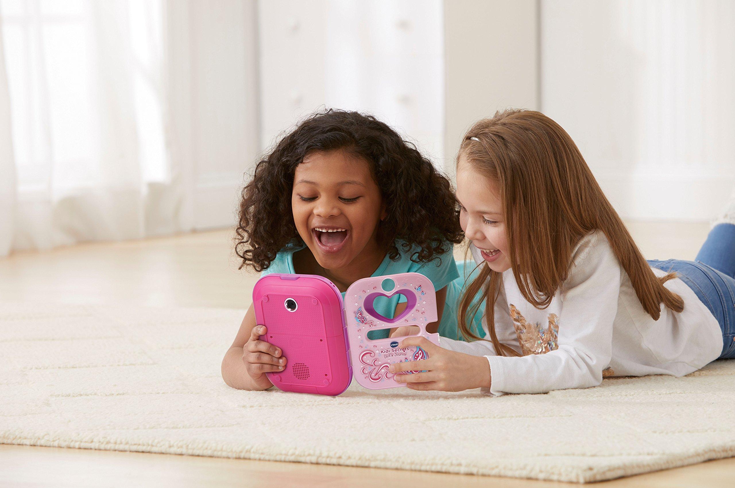 VTech Kidi Secrets Selfie Journal with Face Identifier, Pink by VTech (Image #5)