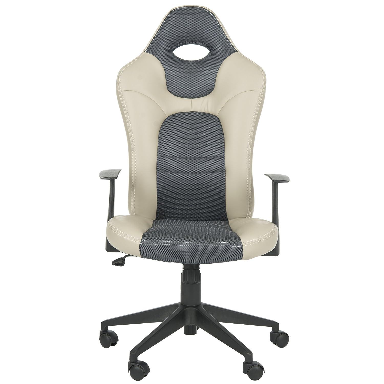 Amazon Safavieh Home Collection Belinda Grey Desk Chair