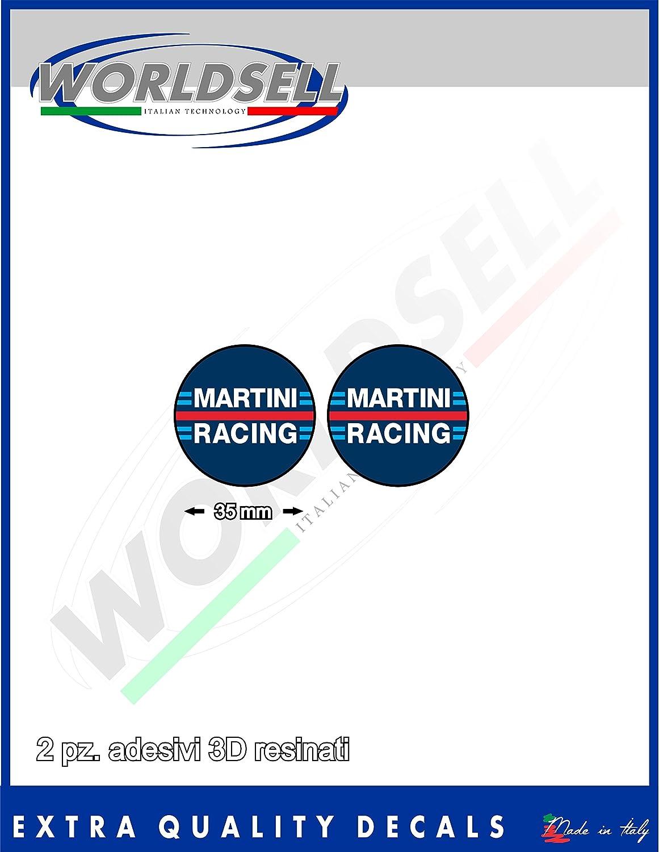 Harz Aufkleber 3d Effekt Kit 2 Stück 3 5 Cm Martini Racing New Auto