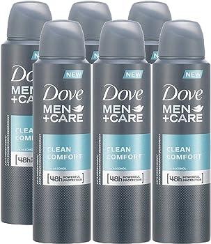 6-Pk. Dove Men Care Spray Deodorant & Anti-Perspirant