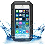iProtect iPhone 5 / 5s Outdoor Case Schutzhülle Hartglas Shock- and Dirtproof in schwarz