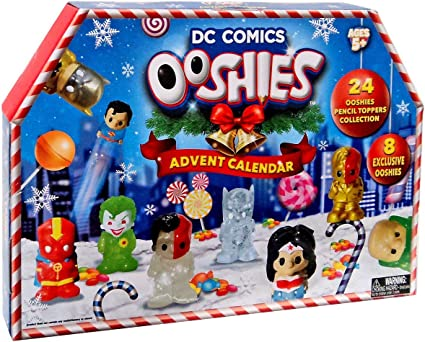 Amazon.com: Ooshies DC Universe Calendario de Adviento: Toys ...