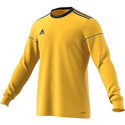 Adidas Squad 17 JSY LS Camiseta de Manga Larga, Hombre