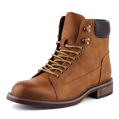 Fusskleidung Herren Biker Boots Schnür Outdoor Stiefeletten Stiefel Camel  EU 41 5f5259687c
