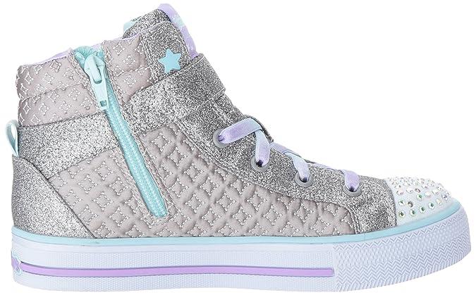 Amazon.com | Skechers Kids Kids Shuffles-Twinkle Charm Sneaker | Sneakers