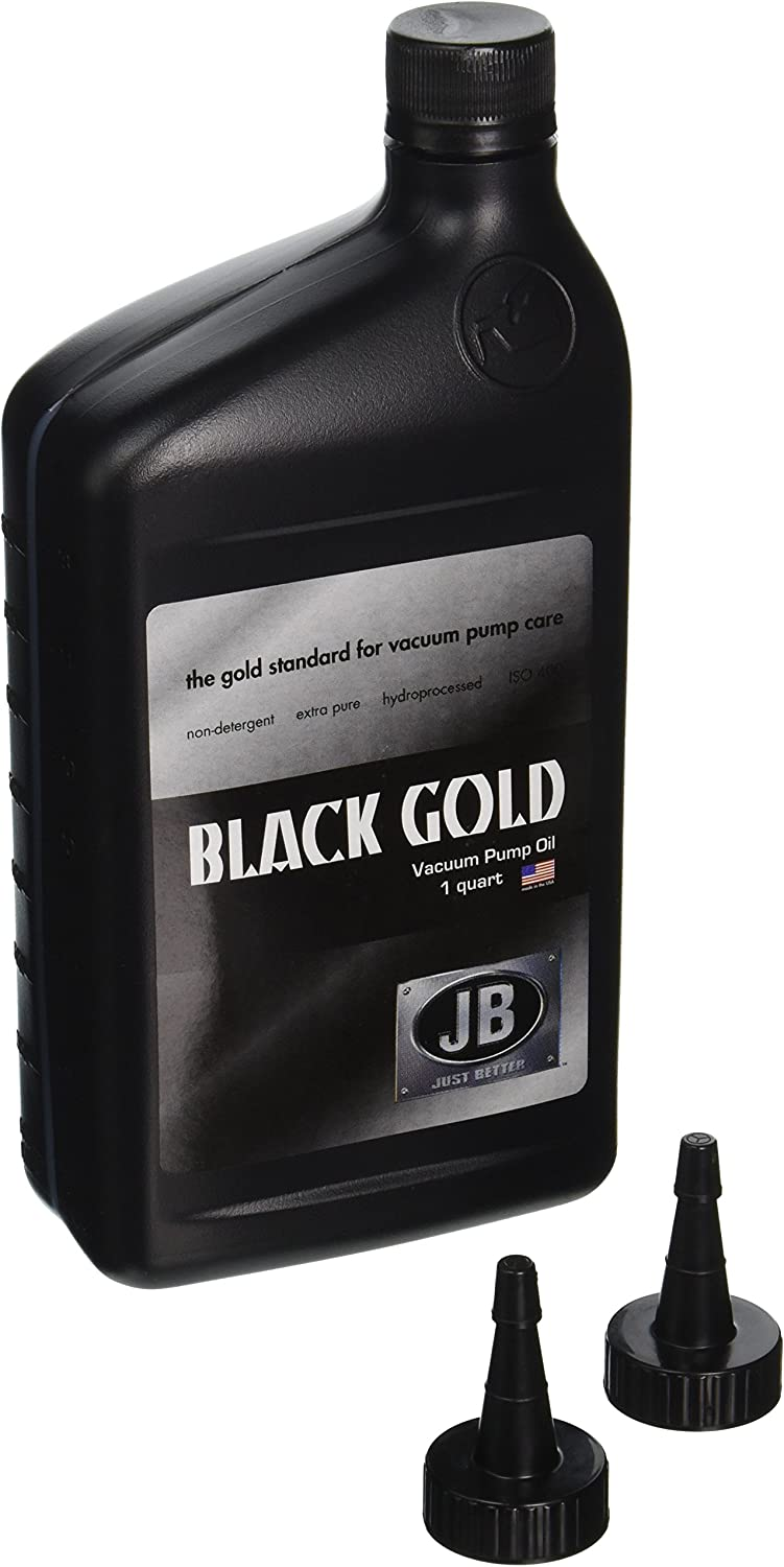 JB Industries Bottle of Black Gold Vacuum Pump Oil , 1 quart