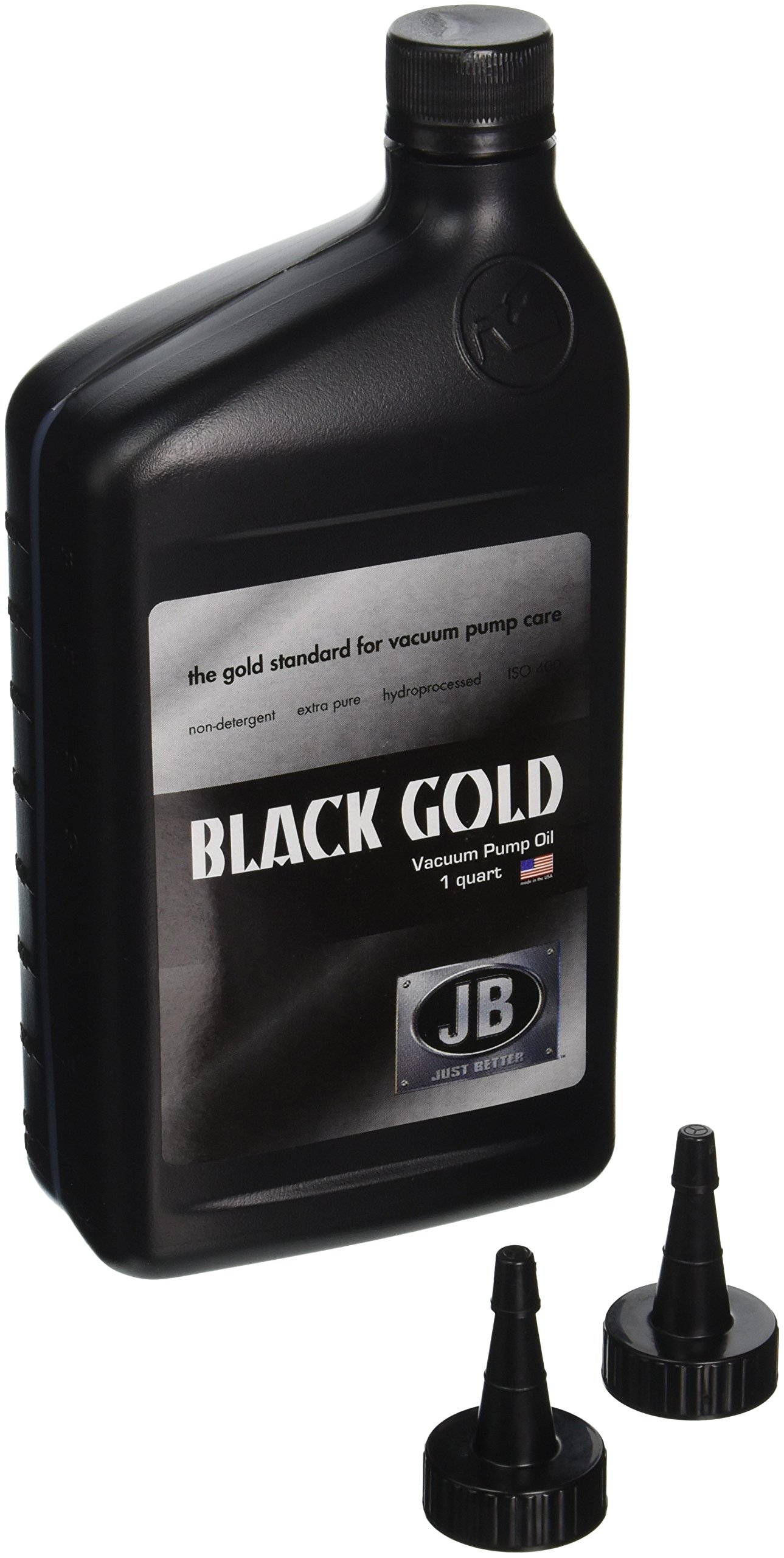 JB Industries Bottle of Black Gold Vacuum Pump Oil , 1 quart