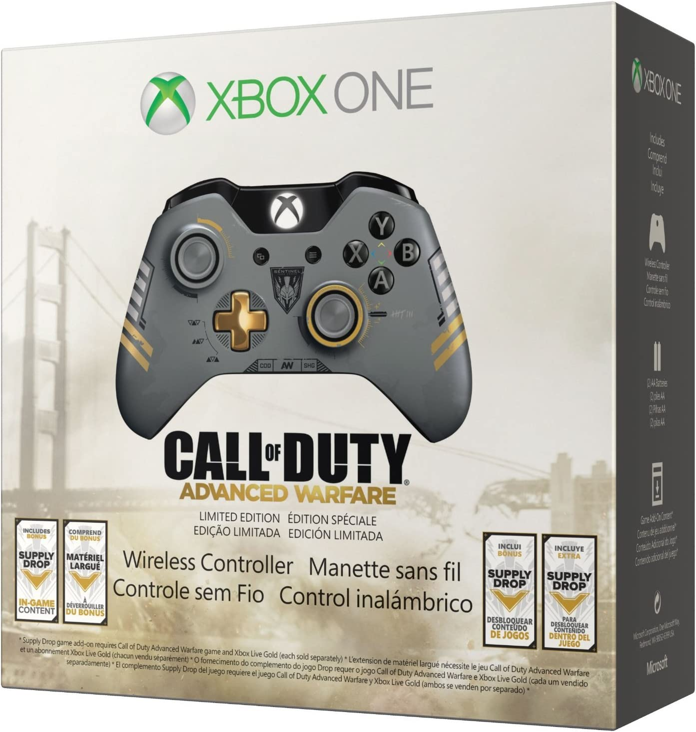 Amazon com: Xbox One Limited Edition Call of Duty: Advanced