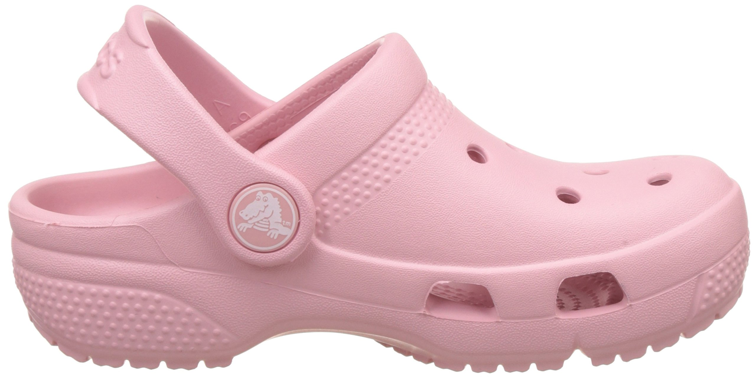 Crocs Kids Unisex Coast Clog (Toddler/Little Kid) Petal Pink 11 M US Little Kid by Crocs (Image #6)