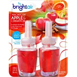 Bright Air Scented Oil Warmer Refill, Set of 2, Macintosh Apple and Cinnamon Scent, 6 Pack