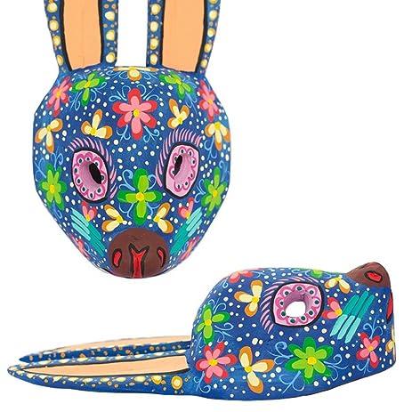Amazon.com: Blue Rabbit Mayan Wall Art, Carved Wall Mural 100% Wood ...